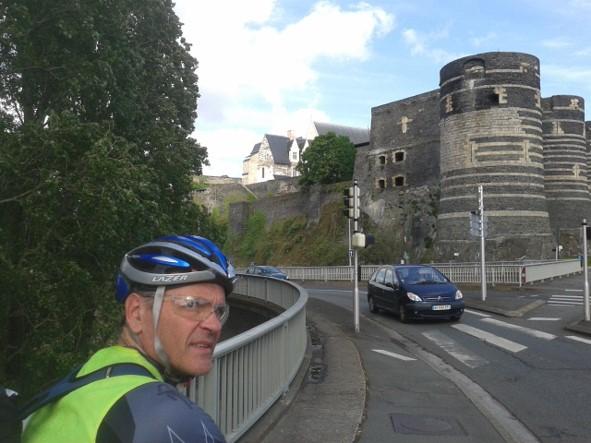 A l'entrée d'Angers