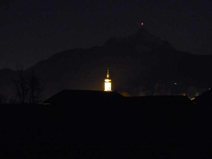 Wertach by night