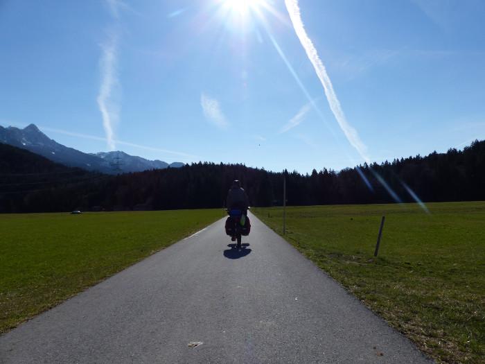 Je roule à 2km/h pour la photo, mais on dirait que je vais plus vite non?