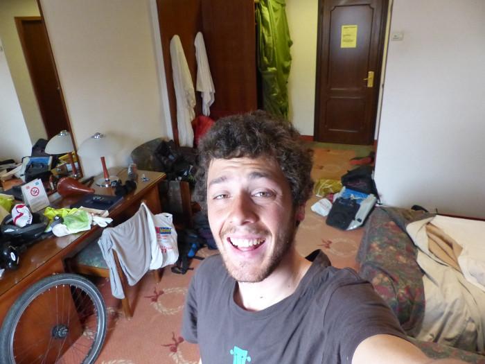 Colonisation de la chambre