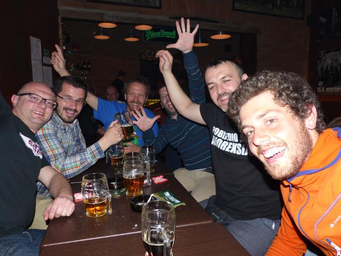 Discussion décousue autour de bières moussues