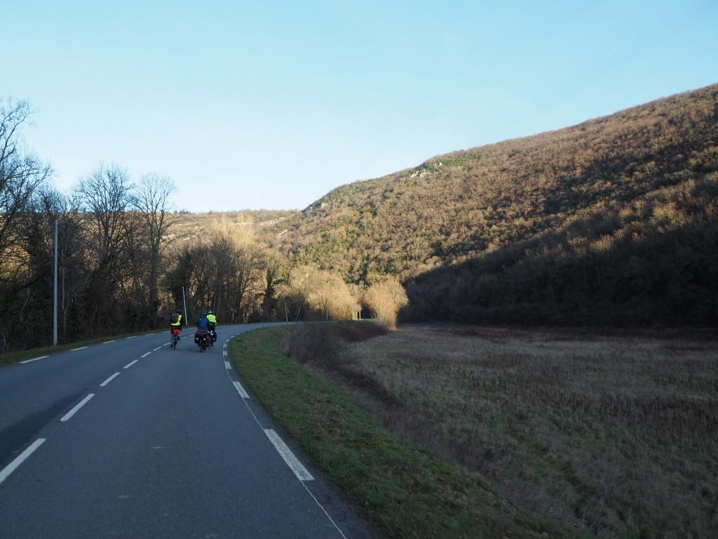 Dans la vallée de l'Aveyron
